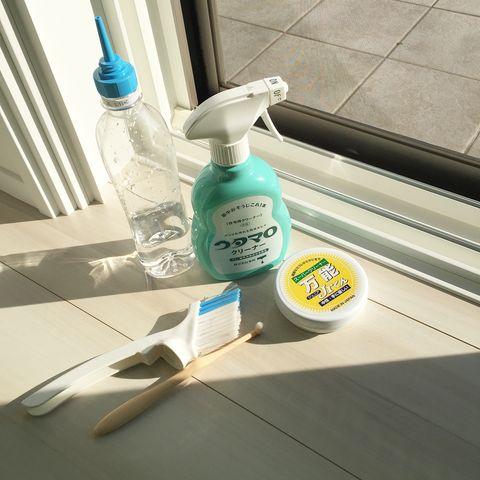 万能ジュニアで窓掃除