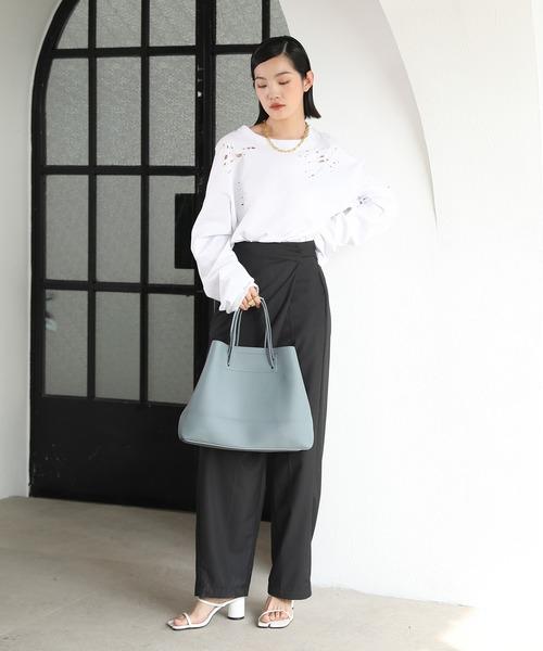 [chuclla] 【chuclla】2way large tote-bag cha135