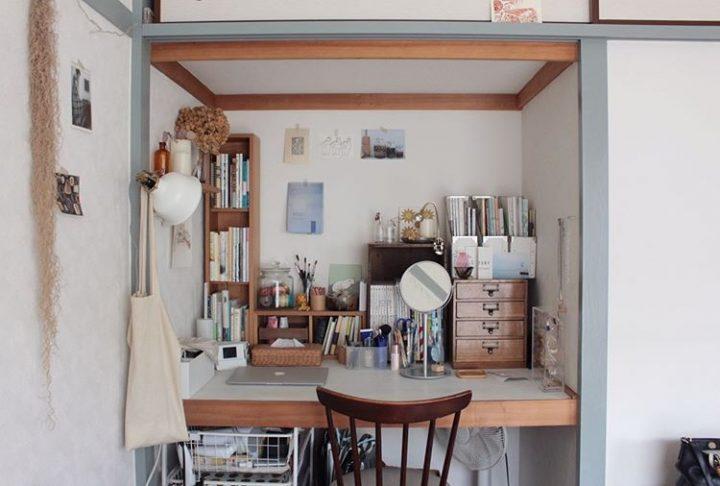 和室の押入れを利用した書斎の作り方
