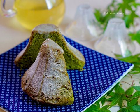 米粉の富士山ケーキ