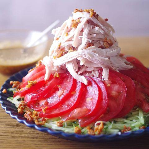 棒棒鶏サラダ