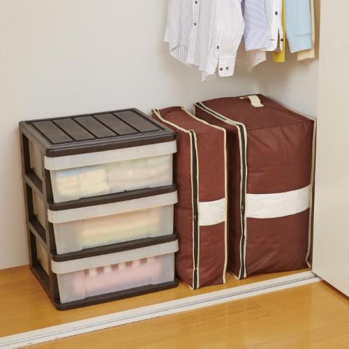 一人暮らしの布団収納アイデア2