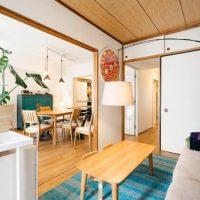 アパートのリビングをおしゃれに。賃貸や一人暮らしでもできるレイアウト実例