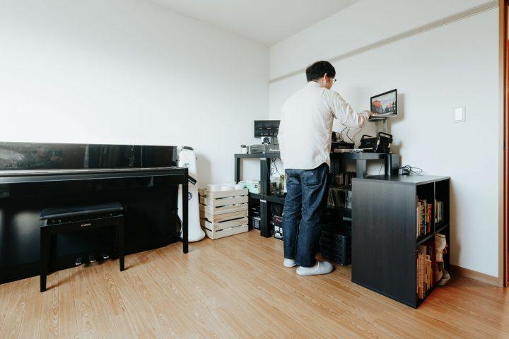 DJブース+楽器部屋にbnnn