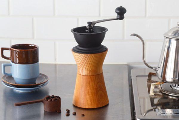 木製コーヒーミル
