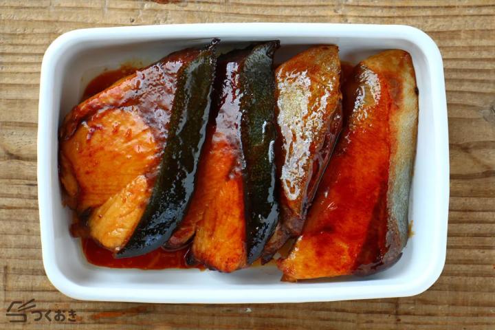 美味しい魚は冷凍できる!ぶりの照り焼き