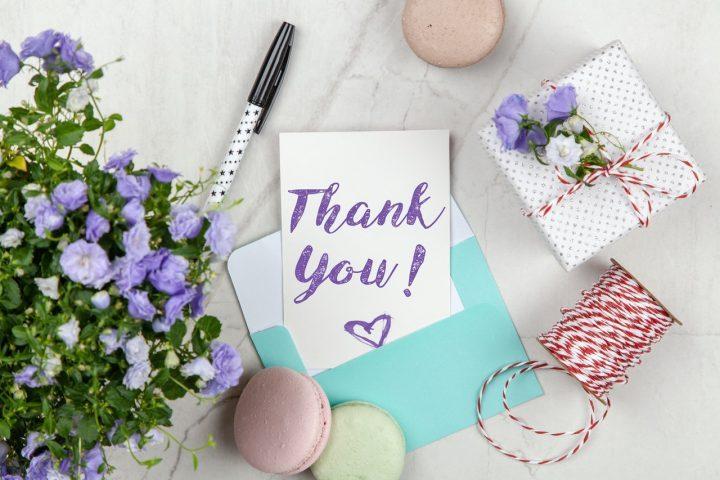 「感謝」の意味をもつ素敵な春の花言葉