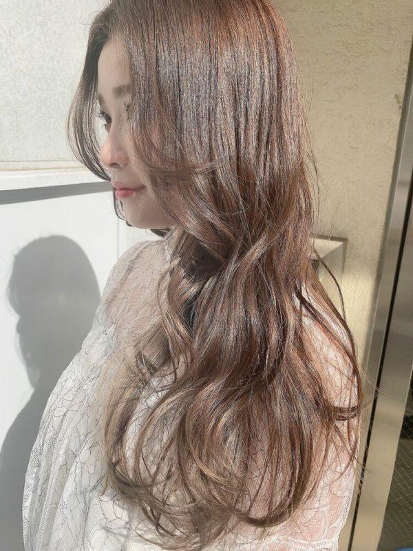伸ばしかけの前髪アレンジ9