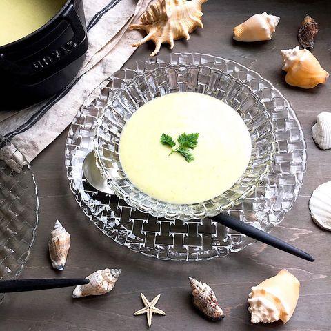 枝豆と豆乳のビシソワーズ