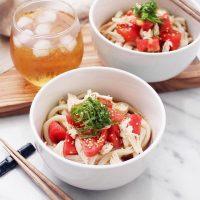 生トマトで作れる美味しい人気レシピ。和〜洋まで丸ごと使えるアレンジメニュー