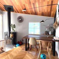 天井の色までこだわったお部屋づくりをしよう。おすすめのおしゃれインテリア実例