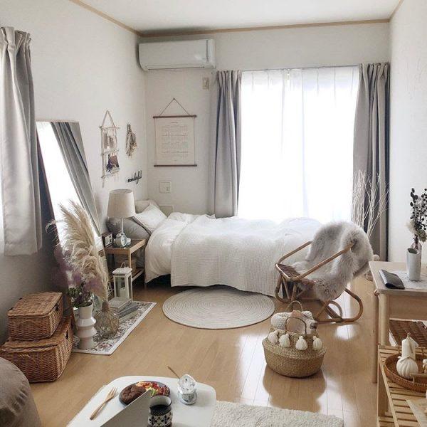 ハンガー収納と、畳む収納の組み合わせスタイル