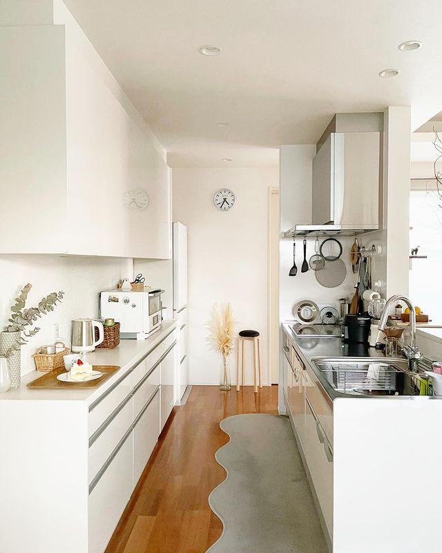 平屋二人暮らしキッチン