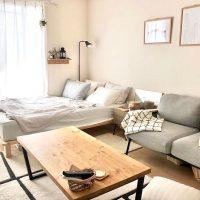 ベッドとソファの配置に悩む…お手本にしたい一人暮らしのレイアウト実例集