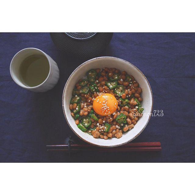 ネバネバ追加トッピング♪オクラ納豆レシピ