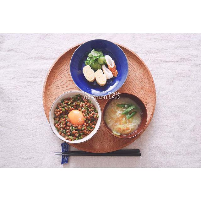食感UPトッピング♪かぶの葉納豆レシピ