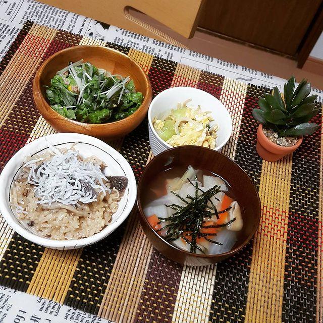 副菜に♡もやし卵チンゲン菜ぽん酢炒めレシピ