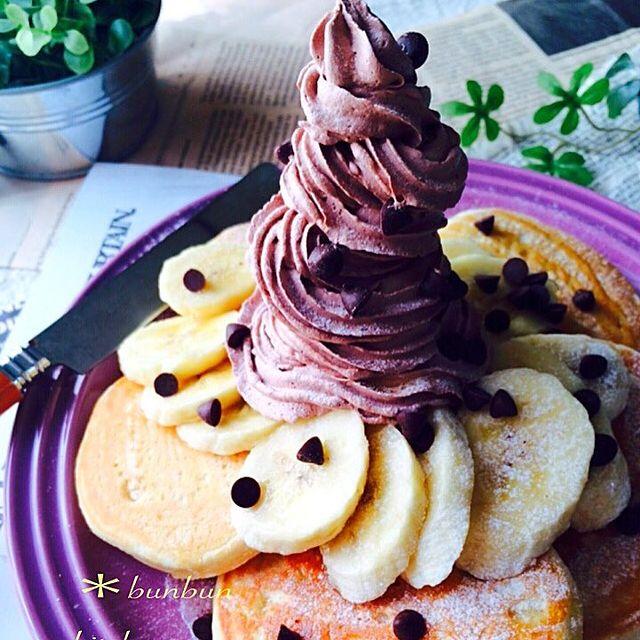 バナナチョコクリーム