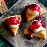 チーズケーキをおしゃれにトッピングしよう。誰でも簡単×可愛くできるアイデアご提案