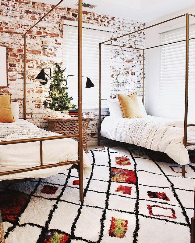 海外インテリア寝室