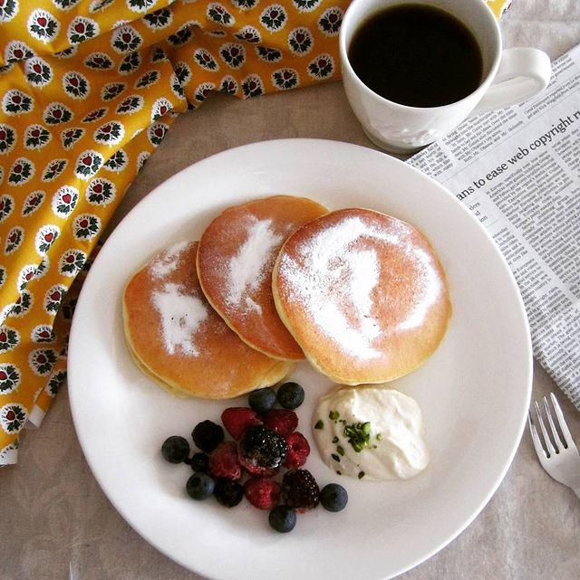 卵白の大量消費に♪ふわふわパンケーキレシピ