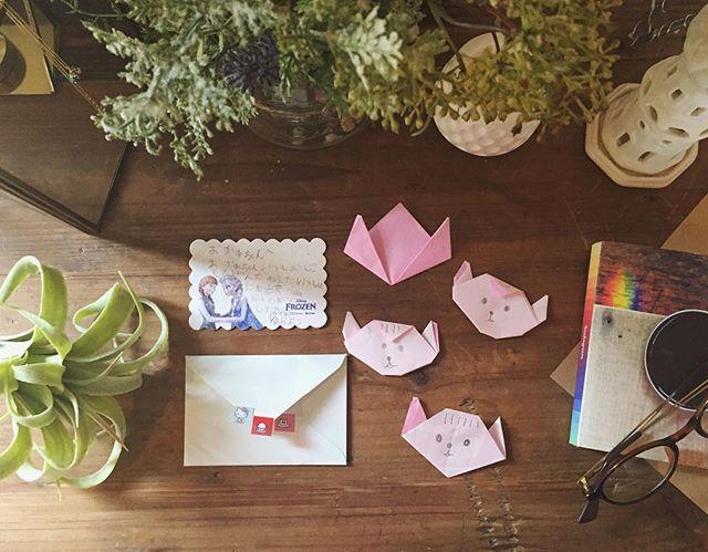 動物の形をした可愛い折り紙