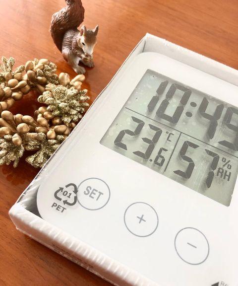 あると便利な湿度温度計