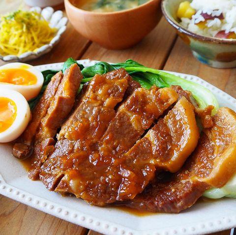 炊飯器で簡単!豚肩ロースのマーマレード煮
