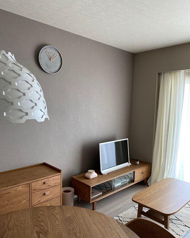 文字盤が可愛い壁掛け時計