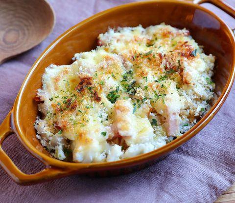 里芋とベーコンのチーズグリル
