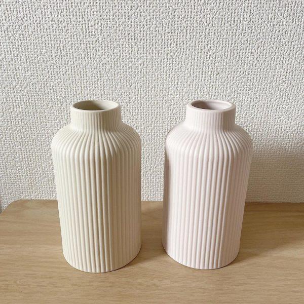 陶器フラワーベースライン