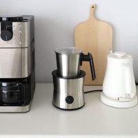 おうちで春を感じよう。カフェ時間に便利なミルクウォーマー