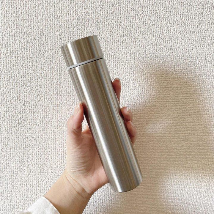 シンプルなステンレスマグボトル