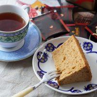 アールグレイが香る!しっとりふわふわ紅茶のシフォンケーキ