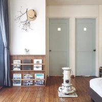 ドアの色の選び方って?おしゃれなお部屋づくりのお手本にしたいインテリア実例