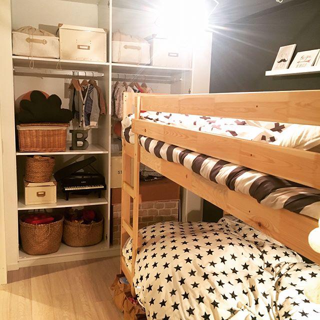 ケガの防止も!?子供の寝室の収納アイデア