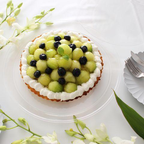 豪華デザート♪メロンのタルトケーキレシピ