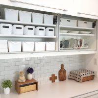 対面キッチンの少ない収納もコレで解決。使い勝手もおしゃれも叶える整理整頓アイデア