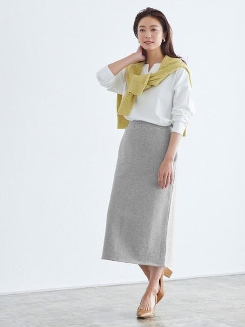 [Pierrot] スウェットタイトスカート