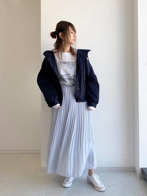 [CRAFT STANDARD BOUTIQUE] ソフトプリーツスカート *