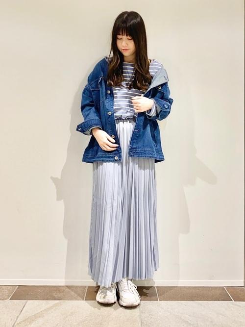 [AMERICAN HOLIC] マルチプリーツロングスカート