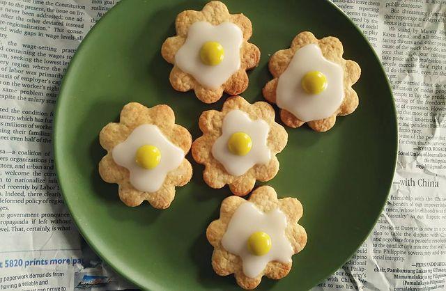 卵白のデコ活用♪アイシングクッキーレシピ