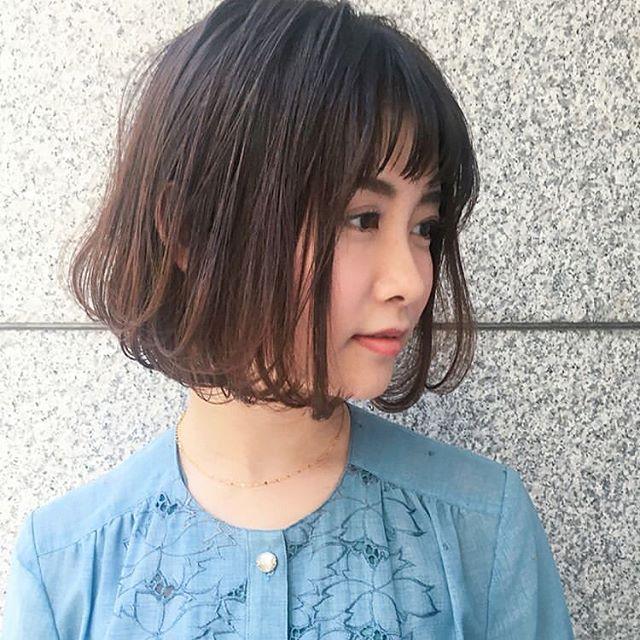 40代を優しく見せるヘアスタイル