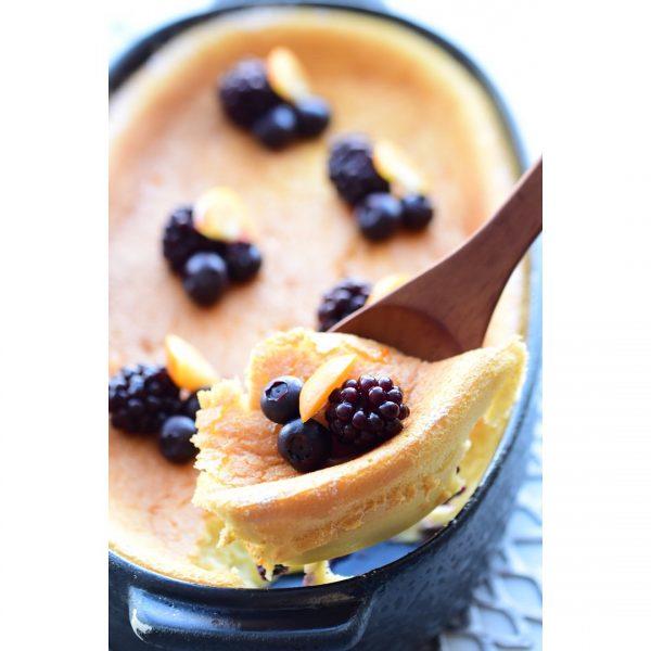 簡単にカフェ気分♡スフレチーズケーキレシピ