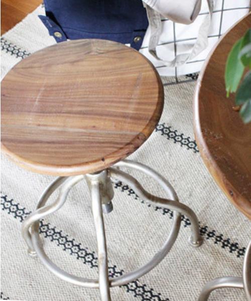 [a.depeche] neo-factory round stool