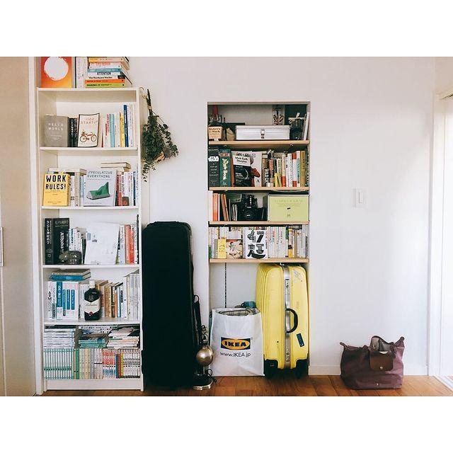 二人暮らし本棚