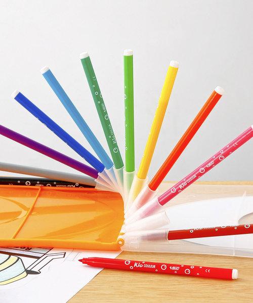 [HIGHTIDE] Bic カラーペン12色セット