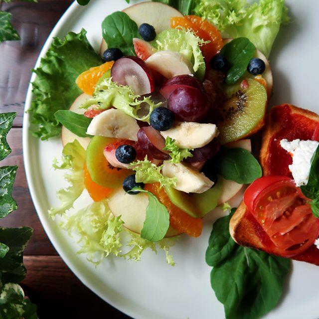 誕生日におすすめ!フルーツの洋風サラダ