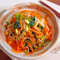 絶品「ナムル」の簡単作り置きレシピ16選。忙しい日でも野菜をしっかり食べられる