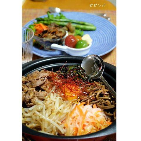 お酒がすすむ人気料理♪鍋焼きビビンバレシピ
